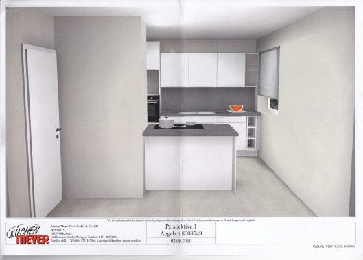 Eßzimmer, Induktionsherd, Einbauküche